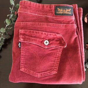 {Levi's} 515 Bootcut Rustic Red Corduroys Jeans